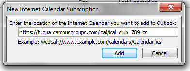 Windows New Internet Calendar Subscription Popup Image